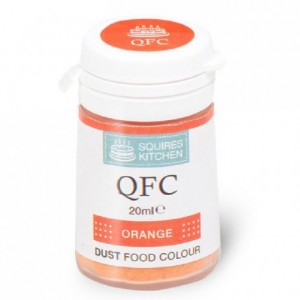 Colorant poudre QFC Squires Kitchen Orange 4 g