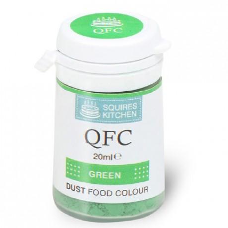 Colorant poudre QFC Squires Kitchen Green 4 g