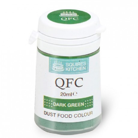 Colorant poudre QFC Squires Kitchen Dark Green 4 g