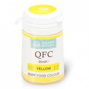 Colorant poudre QFC Squires Kitchen Yellow 4 g