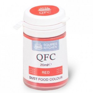Colorant poudre QFC Squires Kitchen Red 4 g