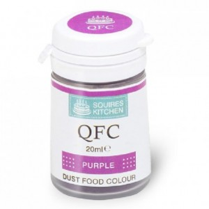 Colorant poudre QFC Squires Kitchen Purple 4 g