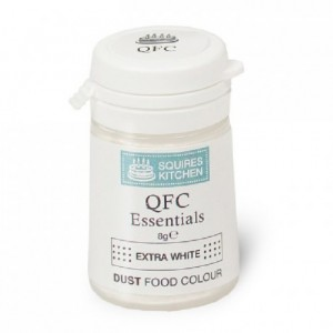 Colorant poudre QFC Squires Kitchen XTRA White 8 g