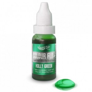 RD Colour Flo Airbrush Colour Holly Green 16ml