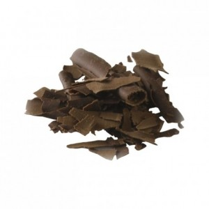 Dark chocolate shavings 45,5% cocoa 200g