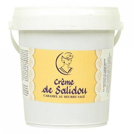Salted butter caramel cream Salidou 1 kg