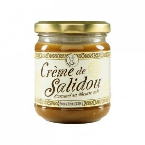 Crème de Salidou caramel au beurre salé 220 g