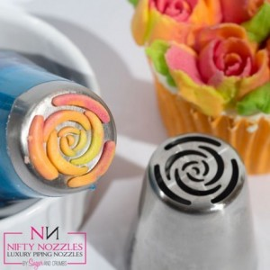 Sugar and Crumbs Nifty Nozzle -10 Petal Rose-