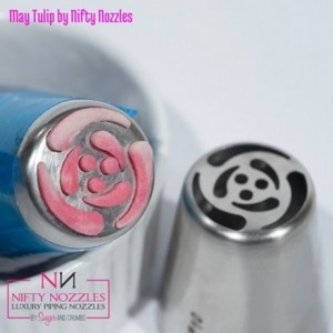 Sugar and Crumbs Nifty Nozzle -May Tulip-