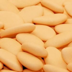 Sugared almonds Royal 38% peach 1 kg
