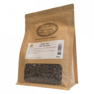 Dark chocolate drops 50% cocoa 500 g