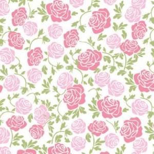 Feuille de transfert Squires Kitchen roses 2 pièces