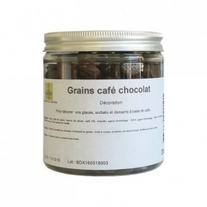 Grains de café chocolat 200 g
