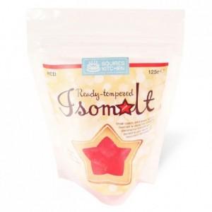 Isomalt tempéré Squires Kitchen rouge 125 g