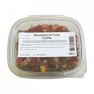 Macédoine de fruits confits 250 g