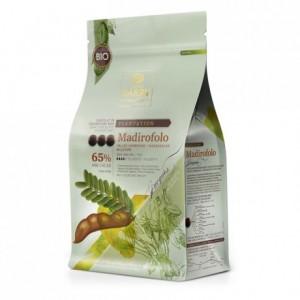 Madirofolo 65% chocolat noir bio de plantation millésime 2013 pistoles 1 kg