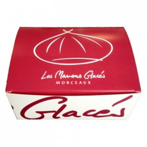 Marrons glacés bits (candied chestnuts) 500 g
