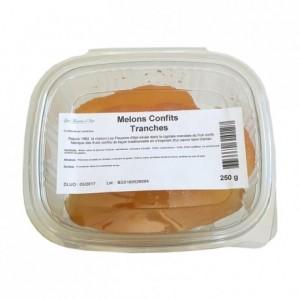 Melons confits tranches 250 g