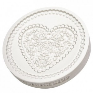 Katy Sue Mould Lace Heart