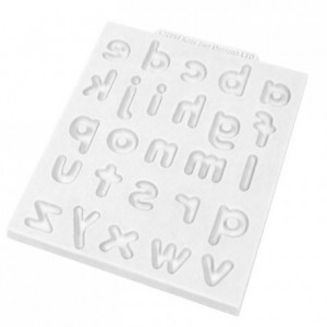Katy Sue Mould Domed Alphabet  -  Lower Case