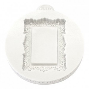 Katy Sue Mould Miniature Frames - Vintage Rectangle