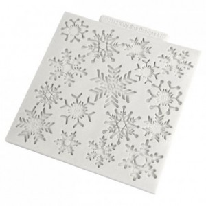 Katy Sue Mould Snowflakes