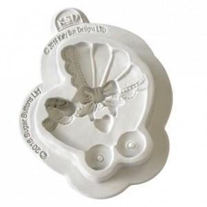 Katy Sue Mould Sugar Buttons - Pram