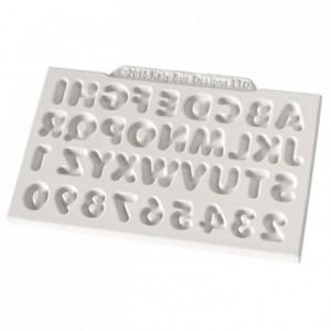 Moule Katy Sue mini alphabet et numéros arrondis