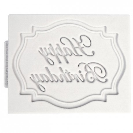 Katy Sue Moule Katy Sue Mini Plaque Joyeux Anniversaire