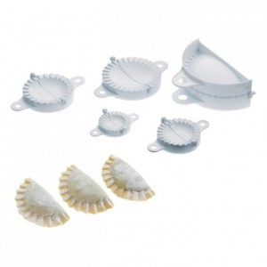 Turnover and ravioli cutters 5 different sizes