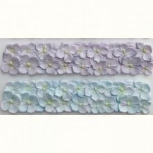 Moule silicone Karen Davies bordure hortensia