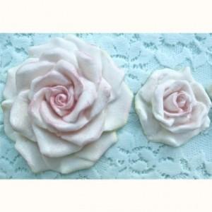 Moule silicone Karen Davies roses large 4 et 8 cm