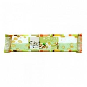Nougat tendre vanille pistache barre 100 g