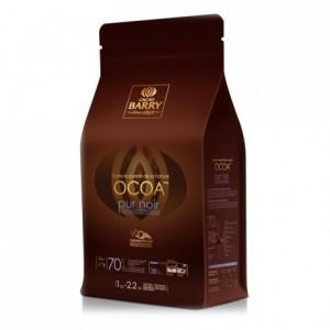 Ocoa 70% Q-Fermentation chocolat noir de couverture pistoles 1 kg