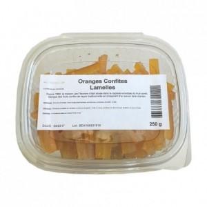 Oranges confites lamelles 250 g