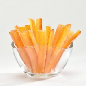 Candied orange peel strips 1 kg