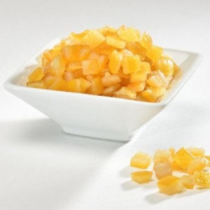 Candied orange peel cubes 1 kg