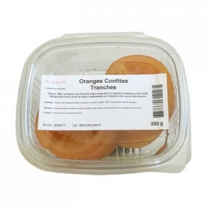 Candied orange slices 250 g