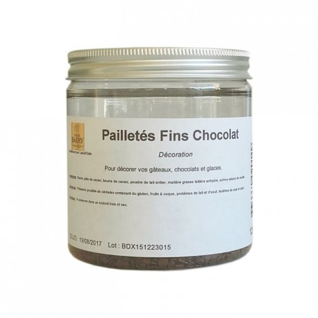 Fine chocolate flakes 125 g