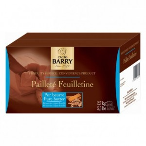 Pailleté Feuilletine thin crumbled biscuit 2,5 kg