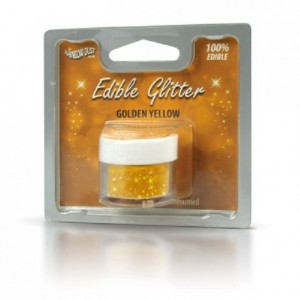 RD Edible Glitter Golden Yellow 5g