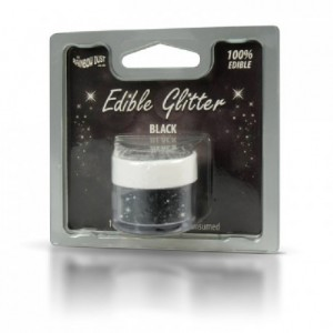RD Edible Glitter Black 5g