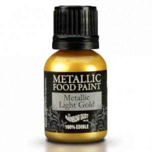 RD Metallic Food Paint Light Gold 20ml