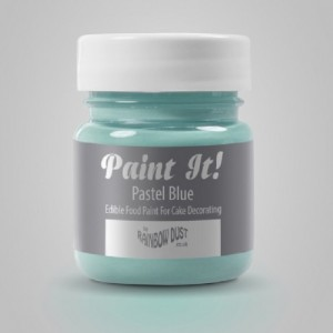 Peinture alimentaire Rainbow Dust Paint It! Pastel Blue 25 ml