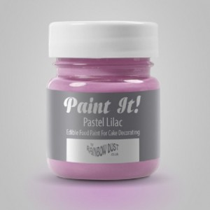 Peinture alimentaire Rainbow Dust Paint It! Pastel Lilac 25 ml
