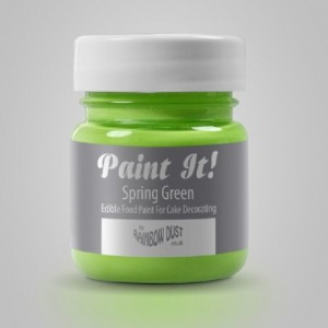Peinture alimentaire Rainbow Dust Paint It! Spring Green 25 ml