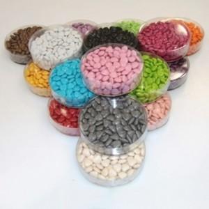 Petits coeurs chocolat corail 150 g