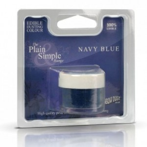 Plain & Simple Blue Rainbow Dust Navy Blue 2 g