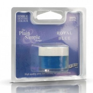 Plain & Simple Blue Rainbow Dust Royal Blue 2 g