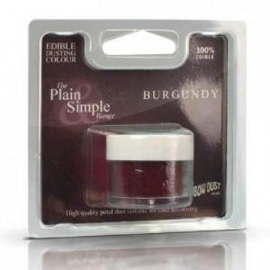 Plain & Simple Red Rainbow Dust Burgundy 2 g